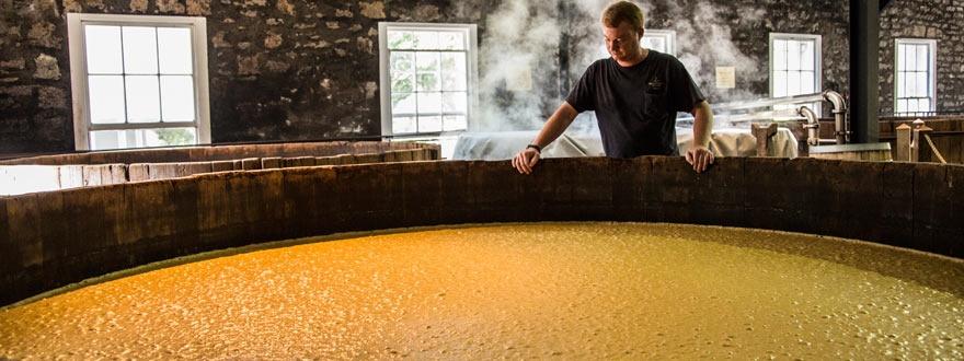 Ферментация на зърнената каша Уудфорд Резърв