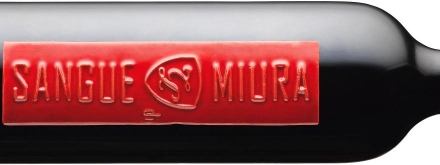 Етикет на Сангуе ди Миура