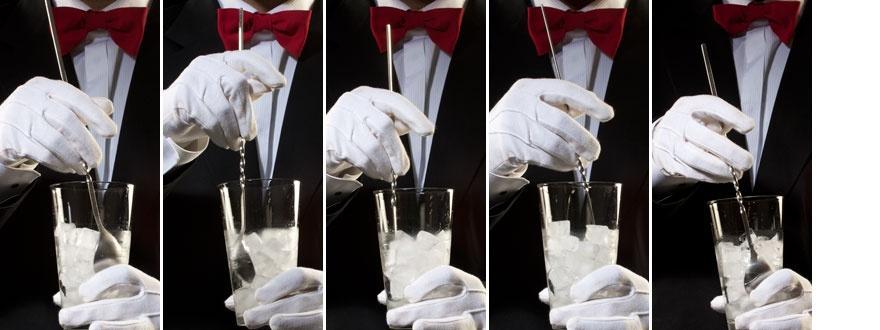 Техника на разбъркване в барова чаша 330-880