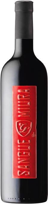 Бутилка вино Сангуе ди Миура на Тонино Ламборгини