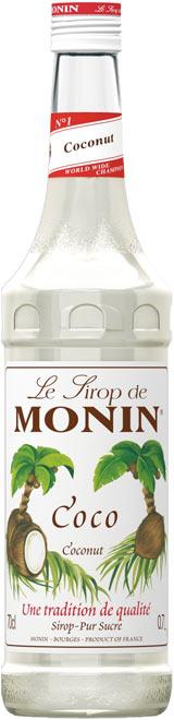 Бутилка на сироп Кокос Монин