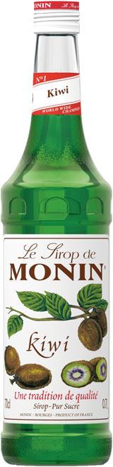 Бутилка на сироп киви на Монин