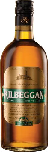 Бутилка Килбегън - ирландско уиски