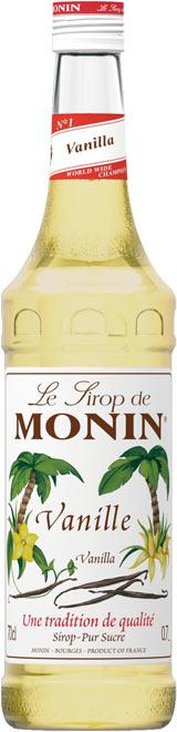 Бутилка на сироп ванилия на Монин