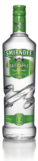 Смирноф Зелена ябълка висока