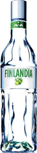 Бутилка на водка Финландия Лайм