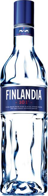 Бутилка на водка Финландия 101